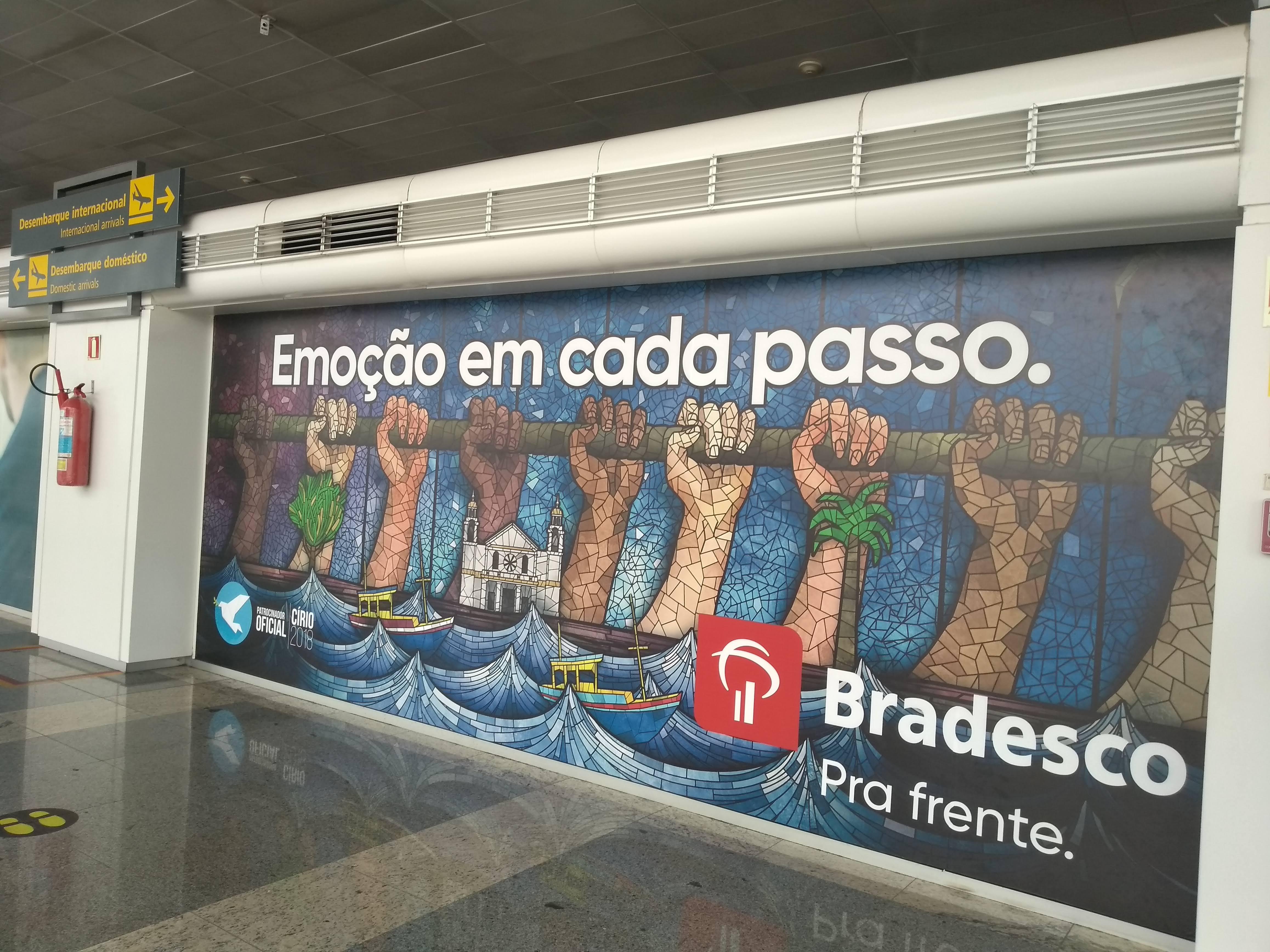 Nossos clientes estão arrasando no aeroporto de Belém!