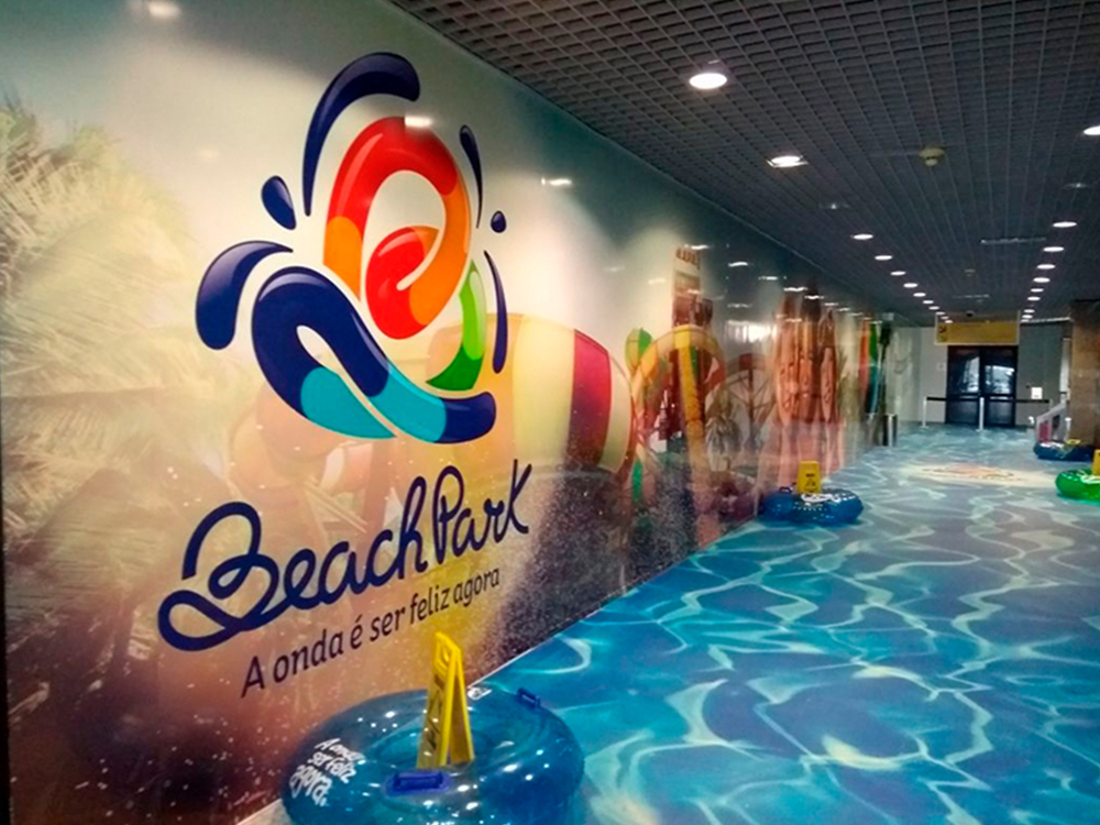 "Beach Park ""invade"" Aeroporto de Fortaleza"