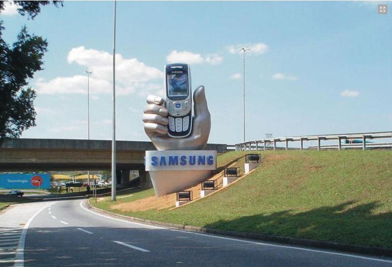 Hand Mock- Up feito para a  Samsung!