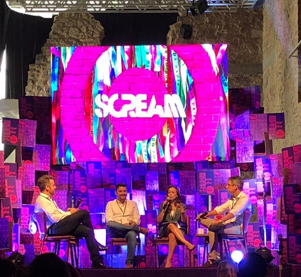 Também estivemos presente no Scream Festival!