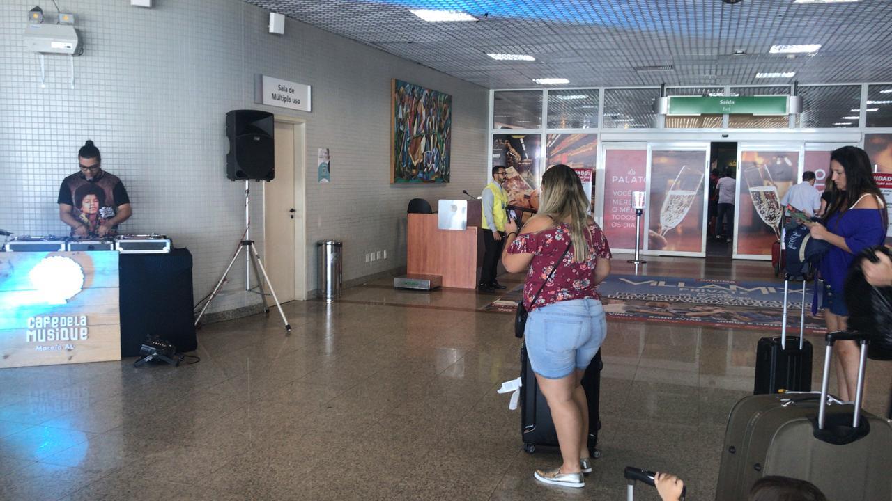 Quem viajou esse final de ano para Maceió, entrou em clima de festa desde a chegada no Aeroporto!
