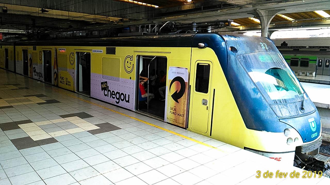 Já imaginou quantas pessoas são impactadas nos Trens de Recife? São mais de 100 milhões de passageiros por ano. 😱
