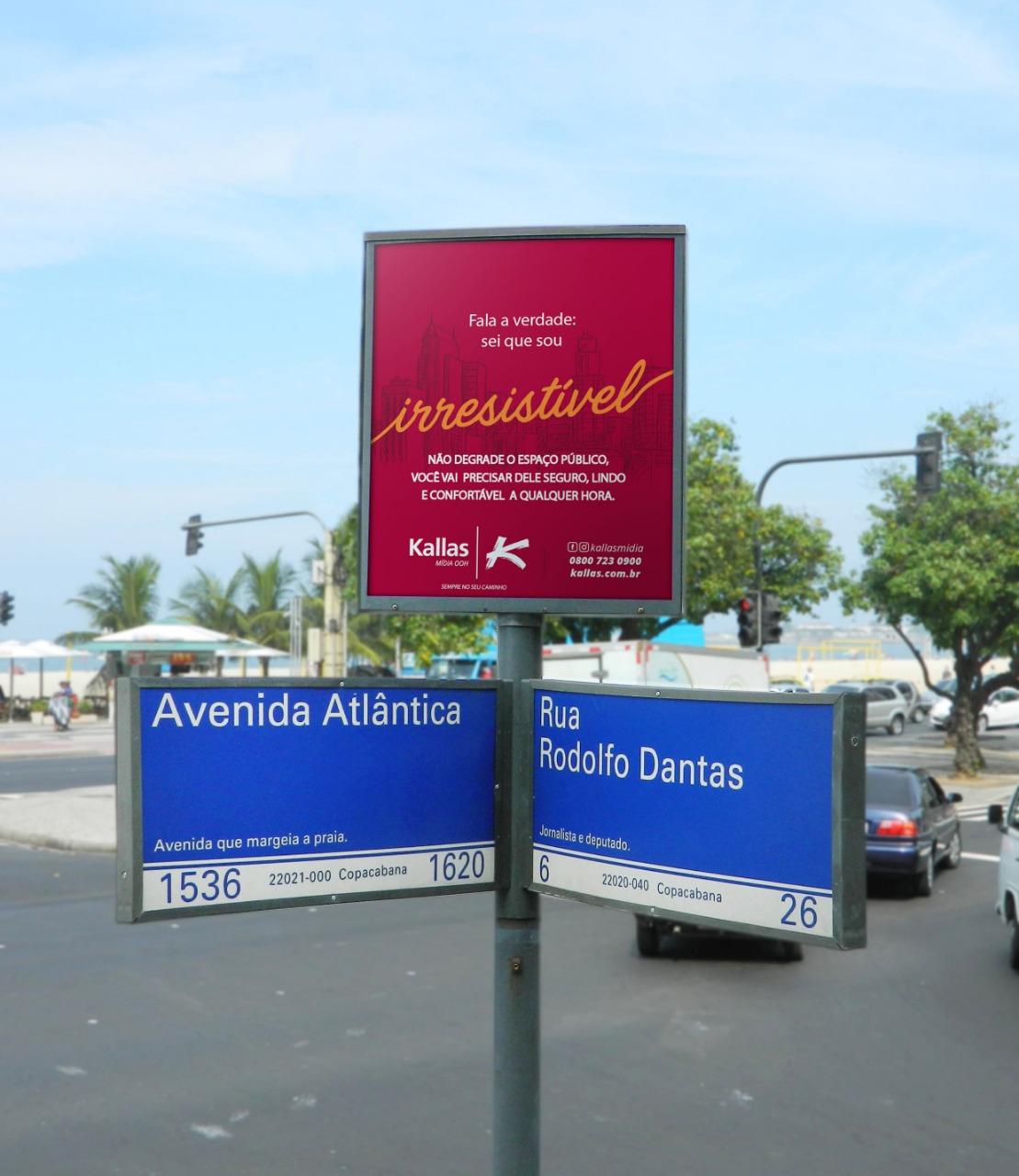 Você sabia que anunciando em mobiliário urbano com a Kallas Mídia OOH você ajuda a manter a sua cidade ainda mais bonita?