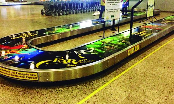 steira de Bagagem Aeroporto de Fortaleza