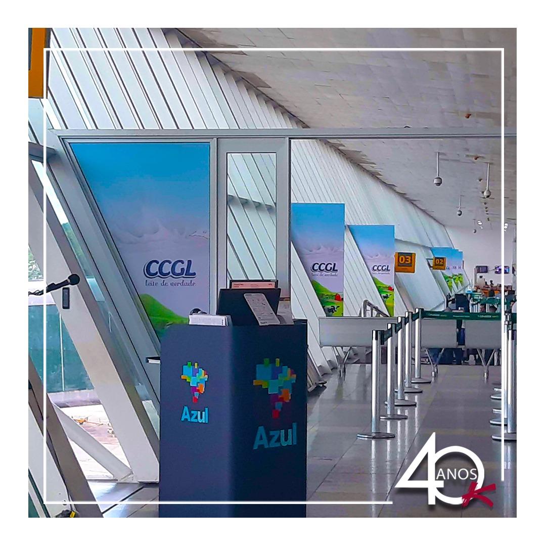 Aeroporto Val-de-Cans, em Belém do Pará com campanha da CCGL!