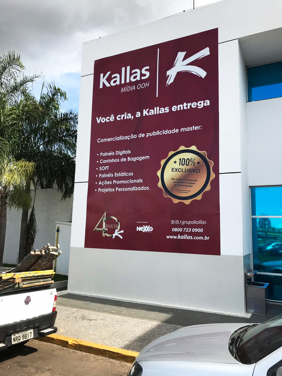 Campanha Institucional no Aeroporto de Campo Grande- MS