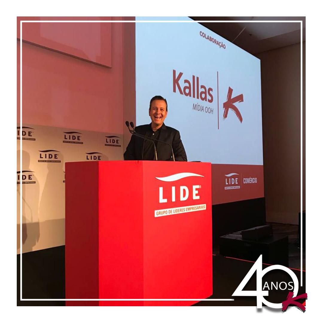 Kallas Mídia OOH é apoiadora na Sétima edição do Fórum Lide de Varejo