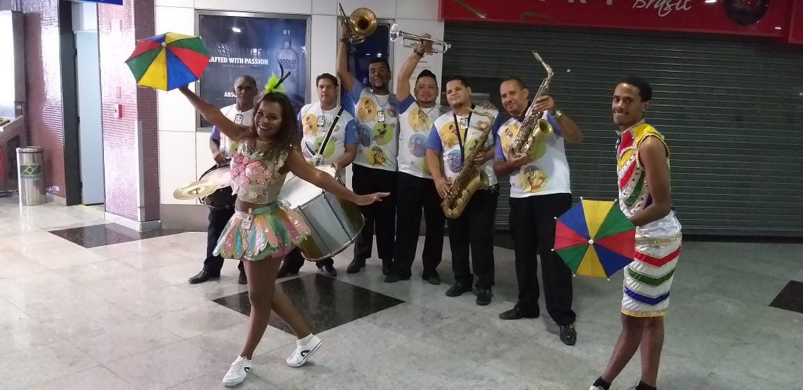 Recepctivo no Aeroporto Internacional do Recife!