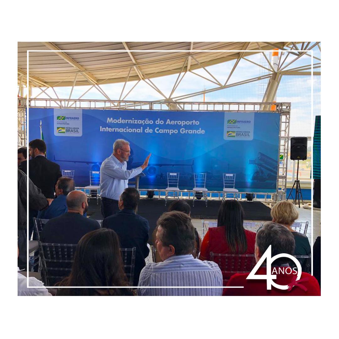 Ampliação do aeroporto de Campo Grande – MS